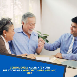 Keep Cultivating Relationships