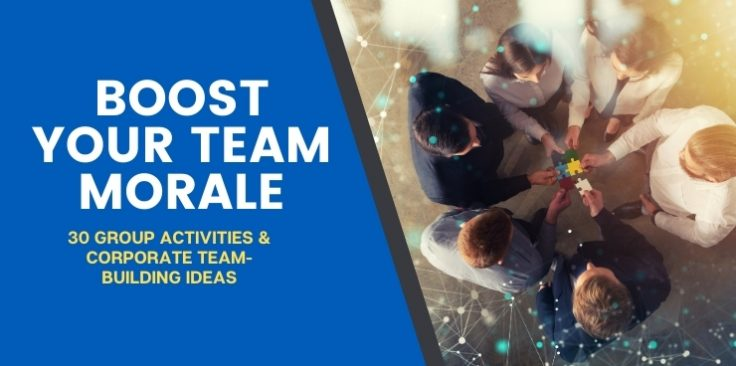 30 Group Activities and Corporate Team-Building Ideas