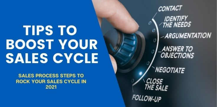Sales Process Steps to Rock Your Sales Cycle in 2021