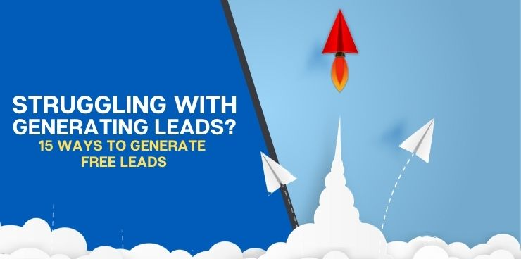 15 Ways to Generate Free Leads
