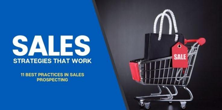 11 Best Practices in Sales Prospecting